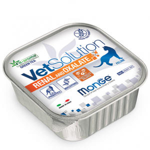 Feline - Renal & Oxalate Vetsolution Monge 100 gr