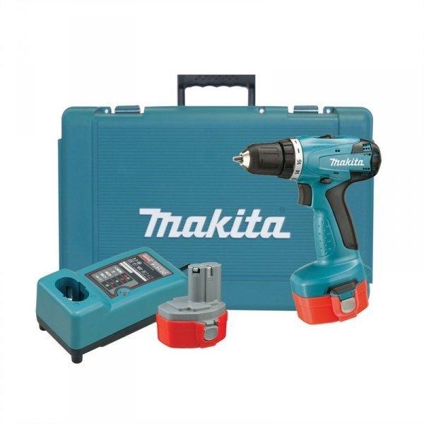 Makita 6281DWPE Trapano a Batteria 14,4 con 2 Batterie