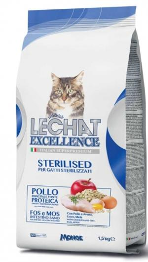 Gatto - Sterilised Lechat Excellence Monge 400 gr
