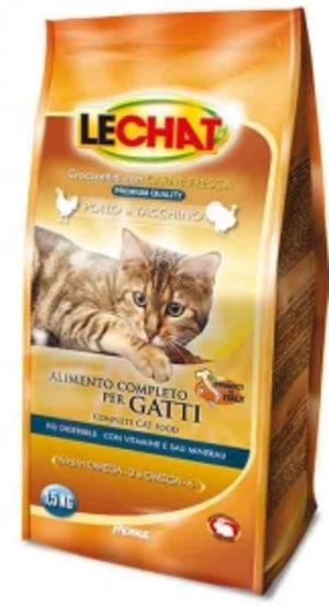 Gatto - Pollo & Tacchino Lechat 1,5 Kg