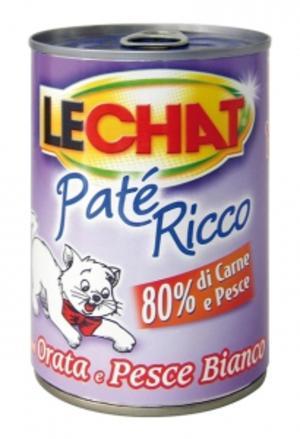 Gatto - Patè Orata & Pesce Lechat 400 gr