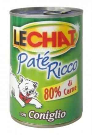Gatto - Patè Coniglio Lechat 400 gr