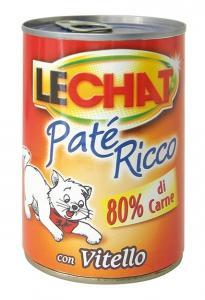 Gatto - Patè Vitello Lechat 400 gr