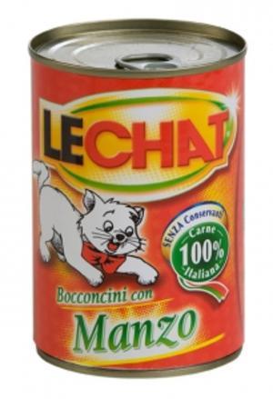 Gatto - Manzo Lechat 720 gr