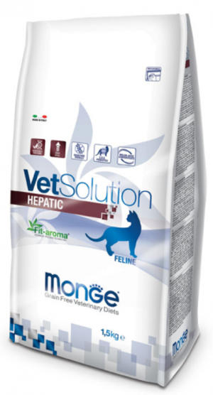 Feline - Hepatic Vetsolution Monge 400 gr