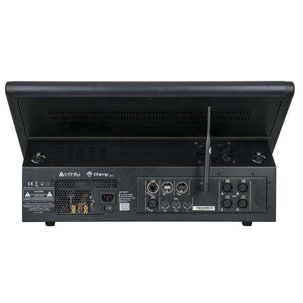 CHIMP 300.G2 Console DMX, 4 universi, con trasmettitore Wireless incluso
