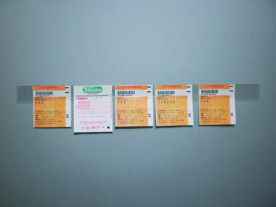 Strisce adesive trasparenti in PVC reggi schede (8 pezzi)