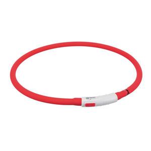 Trixie Collare Led Luminoso Regolabile Per Cani Ricaricabile Ricaricabile USB Luce