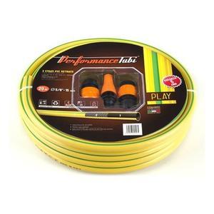 Kit Play, tubo irrigazione con accessori 3 strati in PVC retinato