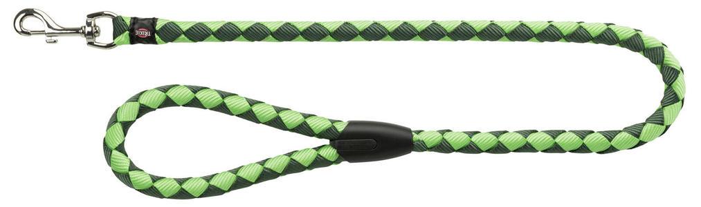Trixie Guinzaglio Per Cani Tubolare Verde XL Lungo 1 Metro largo 18mm Indistruttibile