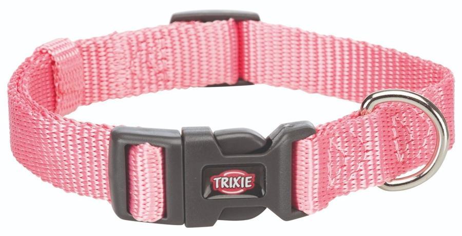 Trixie Collare Regolabile Per Cani Taglia Piccola Cuccioli XXS  Rosa 15-25 cm