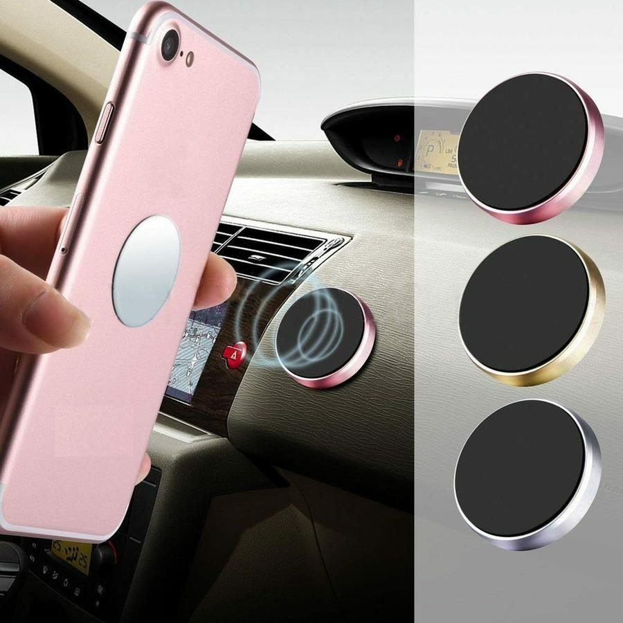 Supporto Magnetico Auto Universale Porta Smartphone CALAMITA Adesivo Cellulare