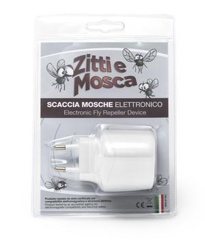 Ultrasuoni Zitti e Mosca Ueber Scaccia Mosche