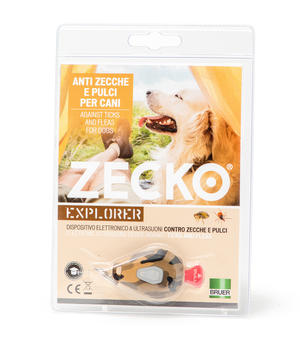 Antizecca Dog Zecko Explorer Ueber