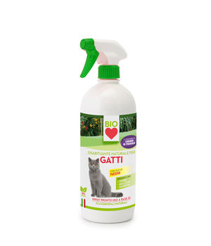 Spray Disabituante Bio per Gatti 750 ml Ueber