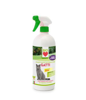 Spray Disabituante Bio per Gatti 750 ml Ueber