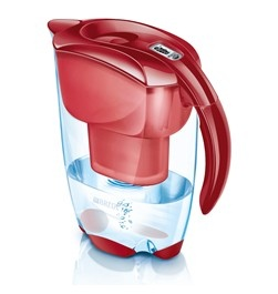 BRITA Caraffa filtrante Elemaris Mater Royal Red