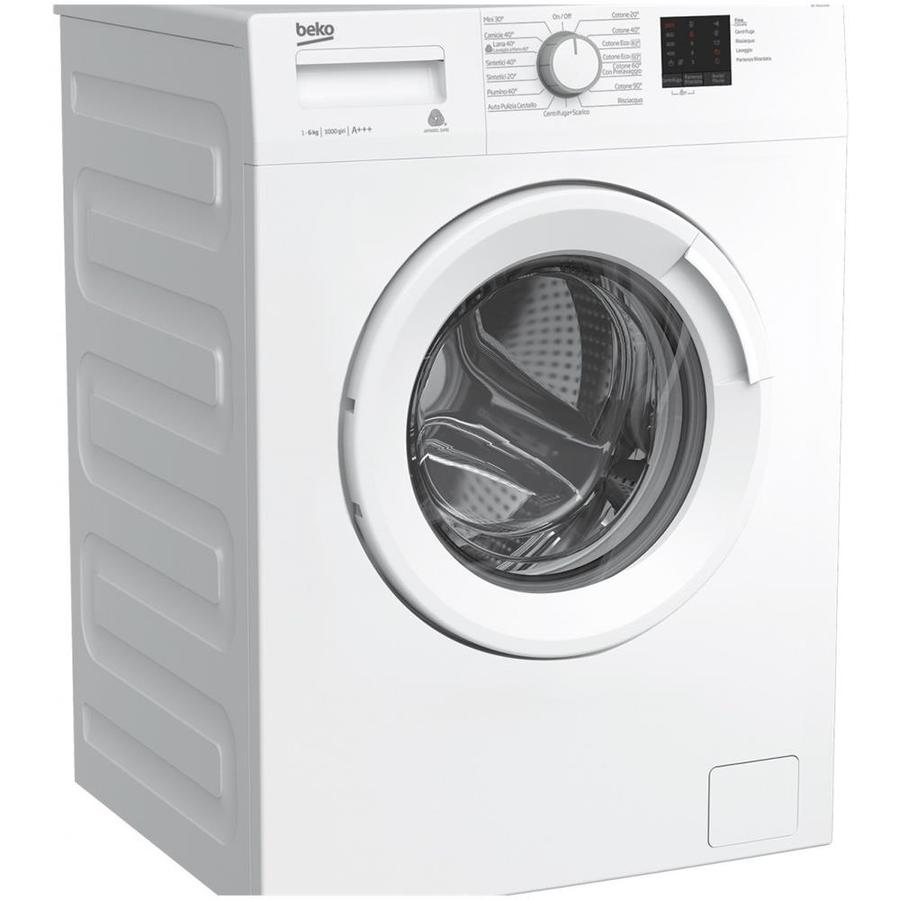 BEKO lavatrice 6kg 1000g A+++ WTX61031W