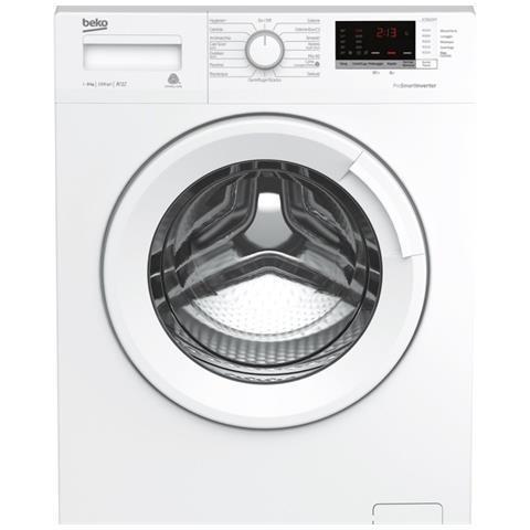 BEKO lavatrice 8kg A+++ 1200g ProSmart™ Inverter WTX81232WI