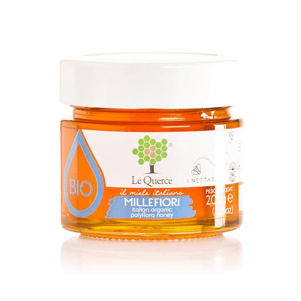 Le querce - Miele millefiori bio 200g