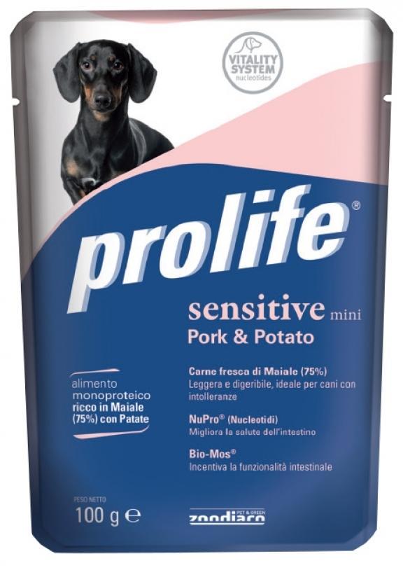 Cane - Sensitive Maiale & Patate Prolife 100 gr