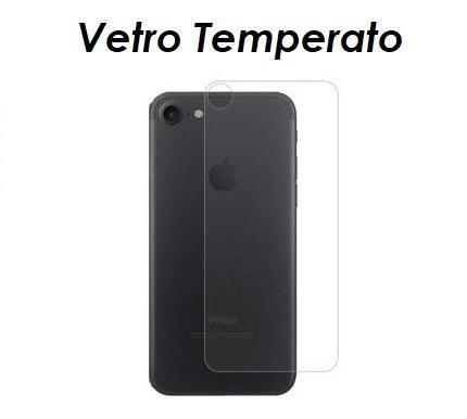 PELLICOLA VETRO TEMPERATO RETRO PER IPHONE 8/8 PLUS PROTEZIONE POSTERIORE