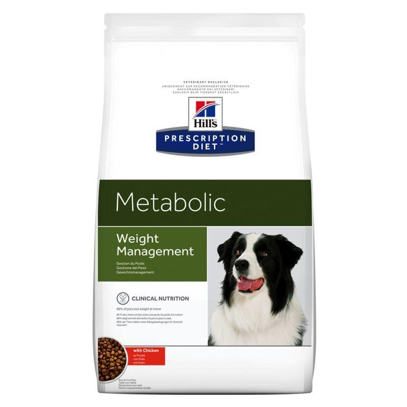 Hill's Metabolic Weight Management 1,5 Kg Croccantini Per Cani Perdita Peso