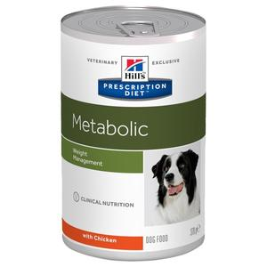 Hill's Metabolic weight Management 354g Cibo umido Per Cani Sovrappeso Dietetico