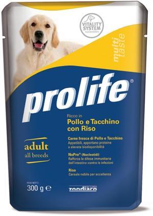 Cane - Pollo, Tacchino & Riso Prolife 300 gr