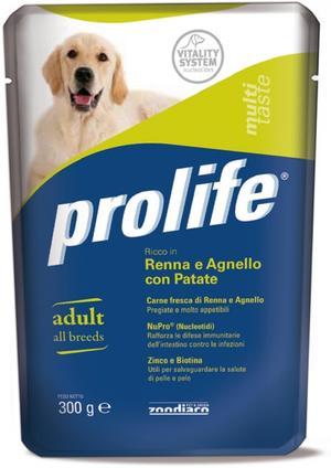Cane - Renna, Agnello, Patate & Piselli Prolife 300 gr