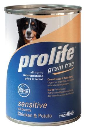 Cane - Grain Free Pollo & Patate Prolife 400 gr