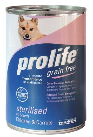 Cane - Grain Free Pollo & Carote Prolife 400 gr