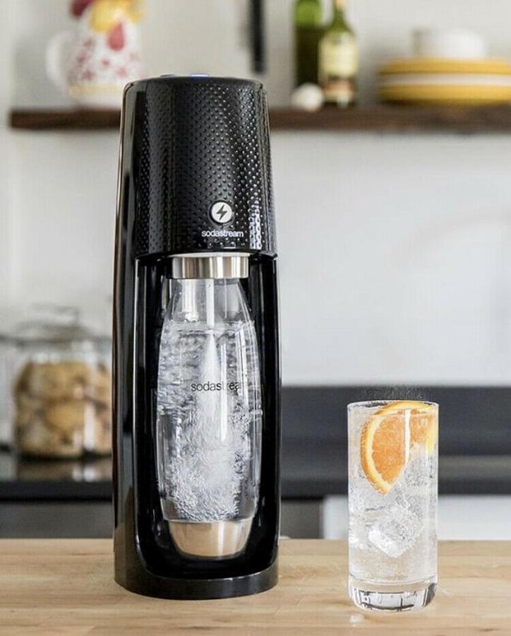 Sodastream Gasatore acqua frizzante Sodastream ONE TOUCH +CilindroC02 +Bottiglia
