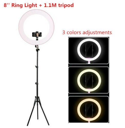 Luce Led ad Anello 30cm per Smartphone RING FILL LIGHT professionale con treppiede 190cm