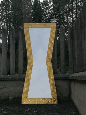 Specchio artistico Vello D'Oro