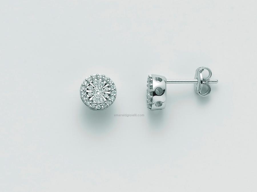 ERD2460 Orecchini Miluna con Diamanti  -