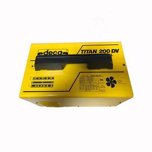 Saldatrice Deca ad elettrodo Professionale Titan 200Dv completa di accessori