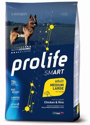 Cane - Smart Medium/Large Pollo & Riso Prolife