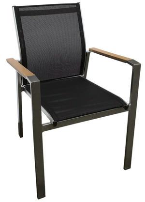 Sedia da giardino in alluminio e textilene ANDERMATTcodice CHE 39 impilabile