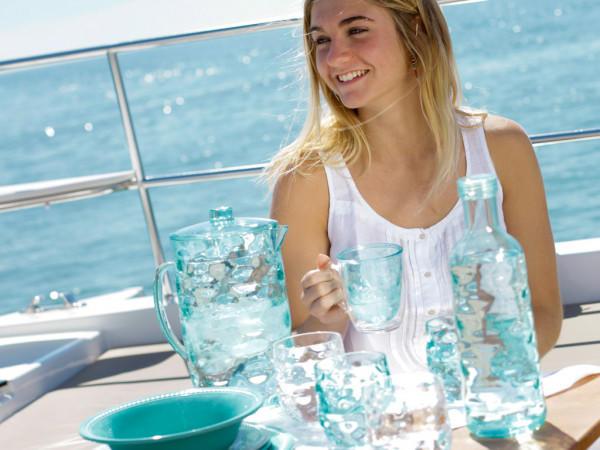 Set 6 Tazze Termiche Infrangibili Harmony col. Acqua Marina di Marine Business - Offerta di Mondo Nautica 24