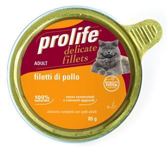 Gatto - Fillets Pollo Prolife 85 gr