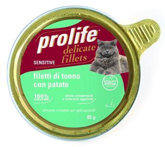 Gatto - Fillets Sensitive Tonno Prolife 85 gr