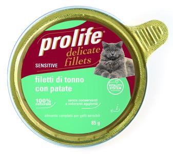 Gatto - Fillets Sensitive Tonno Prolife 85 gr