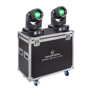 SOUNDSATION SPIRE 280 BEAM SET Kit composto da due Teste Mobili SPIRE 280 BEAM con Flight Case