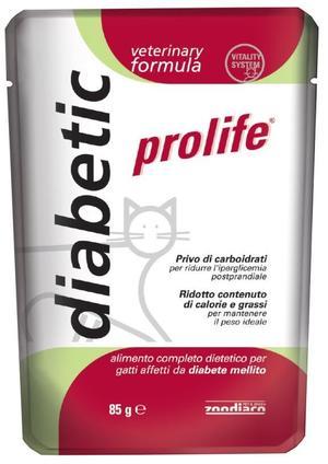 Gatto - Veterinary Diabetic Prolife 85 gr