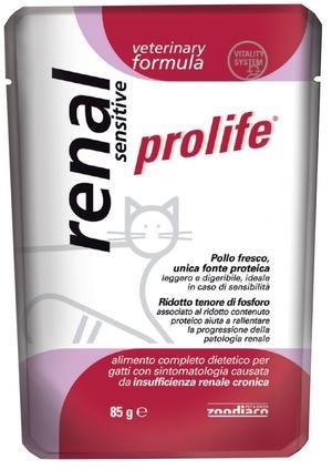 Gatto - Veterinary Renal Sensitive Prolife 85 gr