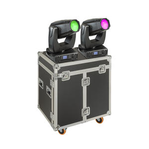 SOUNDSATION SPIRE XL 440 SET Set 2x Teste Mobili Beam-Spot-Wash 20R con Flight Case