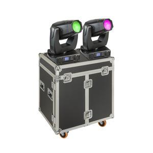 SOUNDSATION SPIRE XL 440 SET Set 2x Teste Mobili Beam-Spot-Wash 20R con Flight Case