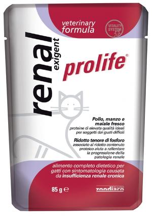 Gatto - Veterinary Renal Exigent Prolife 85 gr