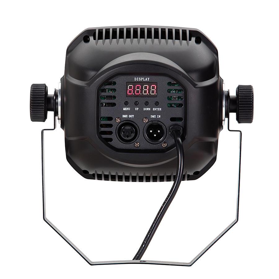 SOUNDSATION SCENIC 100W WW-CW - Proiettore da Studio con 1 LED COB da 100W Bianco Caldo + Freddo e Ribalta